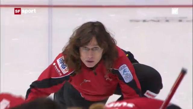 Curling-EM: Niederlage der Frauen gegen Schweden