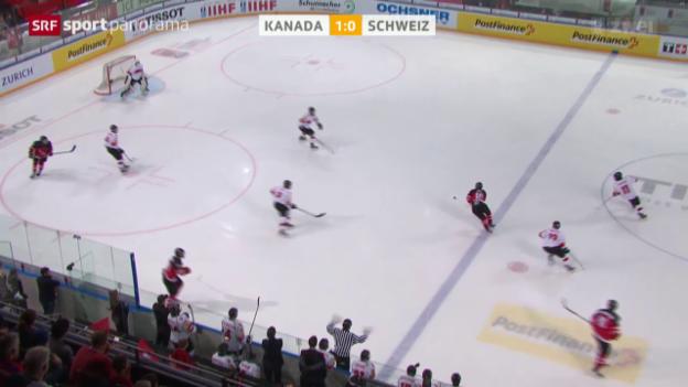 Video «Eishockey: Exploit der U18-Nati an der Heim-WM» abspielen