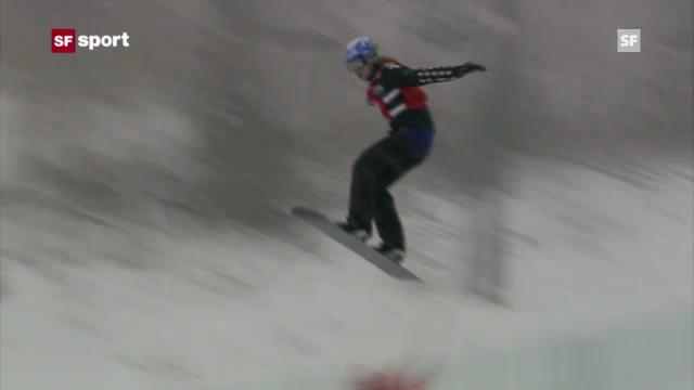 Simona Meiler in Telluride auf dem Podest (sportaktuell, 15.12.2012)