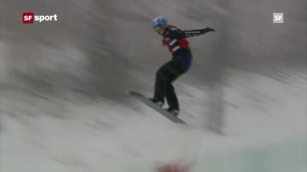 Video «Simona Meiler in Telluride auf dem Podest (sportaktuell, 15.12.2012)» abspielen
