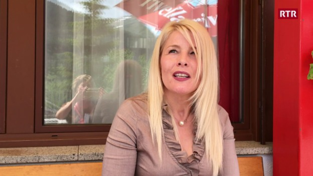 Laschar ir video «Maria Santos è vegnida dal Portugal al Grischun»