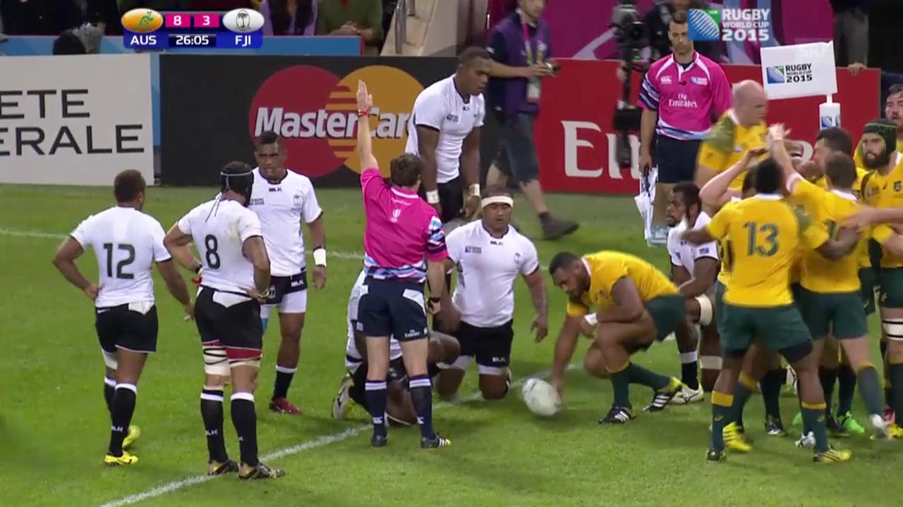 Rugby: WM, Highlights bei Australien - Fidschi (SNTV)