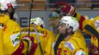 Video «Biel schlägt auch Lugano» abspielen