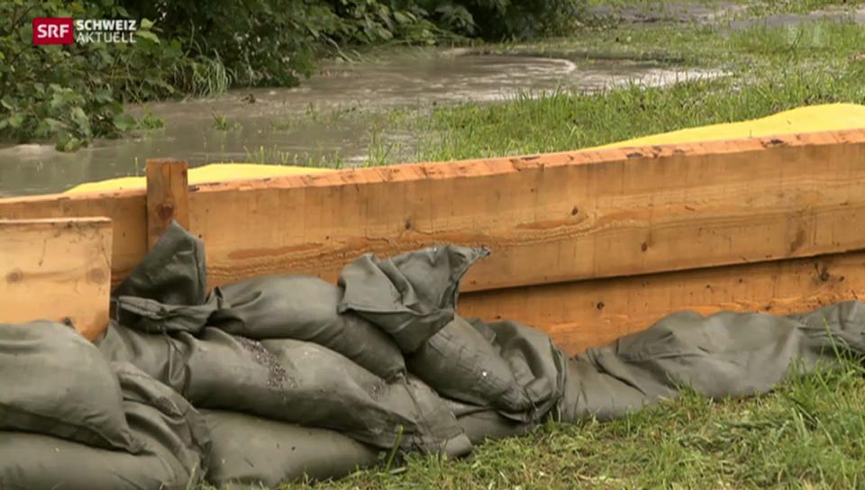 Dauerregen führt zu Hochwasser