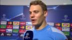 Video «Manuel Neuer nach der Partie gegen Benfica» abspielen