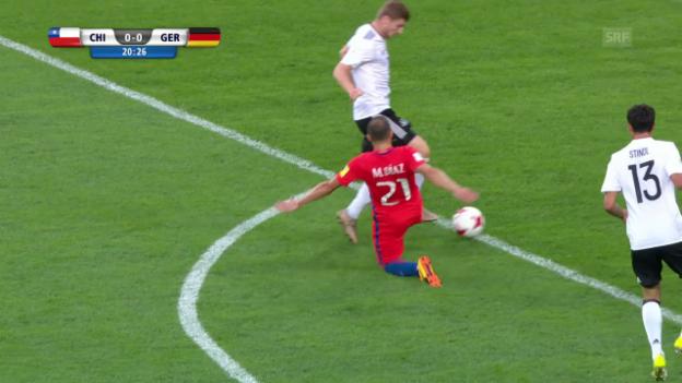 Video «Stindl trifft nach Diaz-Bock zum 1:0» abspielen