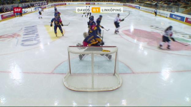 Video «Davos zahlt gegen Linköping Lehrgeld» abspielen