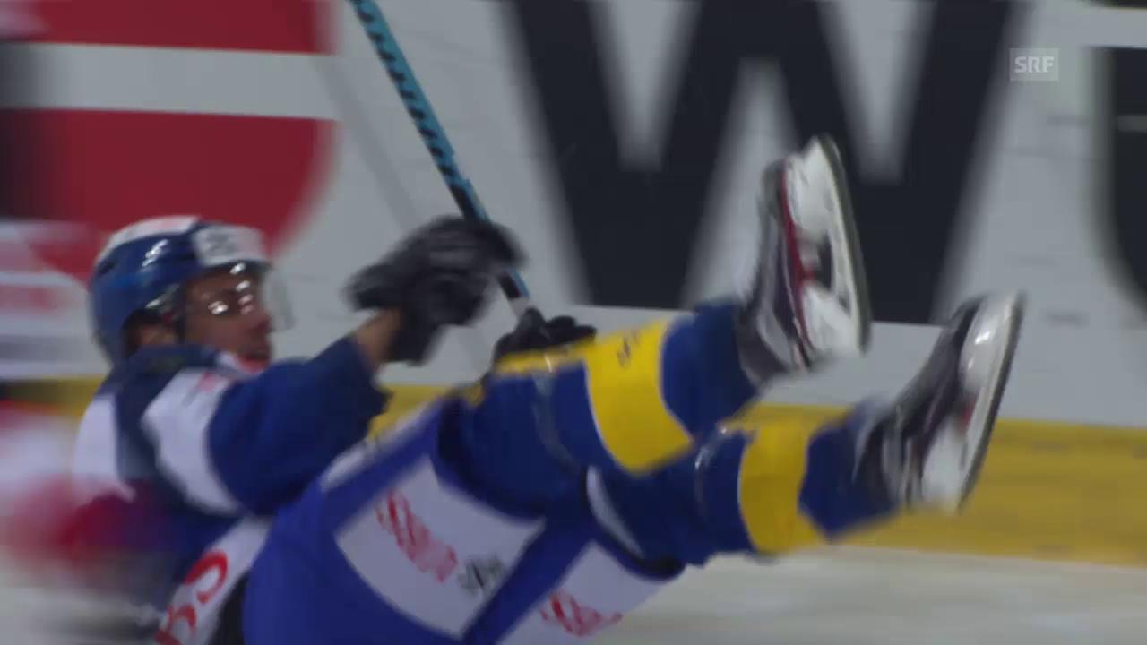 Eishockey: Spengler Cup, Halbfinal, Zusammenfassung Davos - Canada