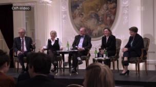 Video «Inside CVP, Gerhard Pfister, Zuwanderung in Emmen, Brexit» abspielen