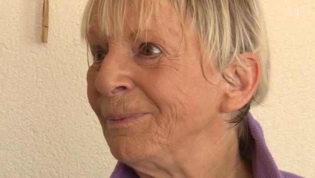 Video «Jubilarin: Ursula Schaeppi feiert ihren 75. Geburtstag» abspielen