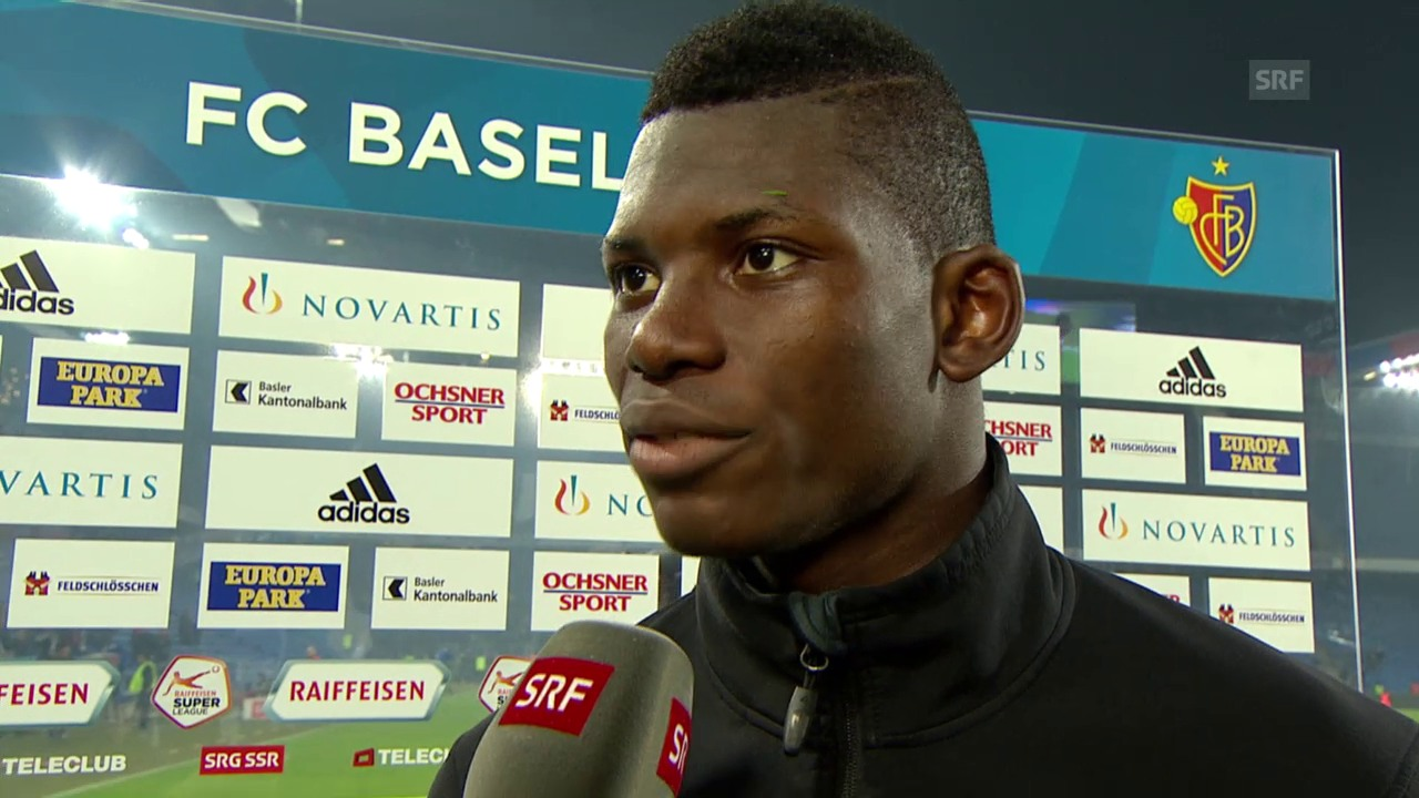 Fussball: Super League, Basel - YB, Interview mit Breel Embolo