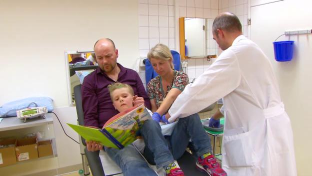 Video «Kinder im Spital – Angst lass nach!» abspielen