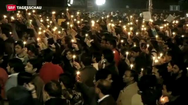 Weitere Proteste in Neu-Delhi