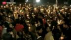 Video «Weitere Proteste in Neu-Delhi» abspielen