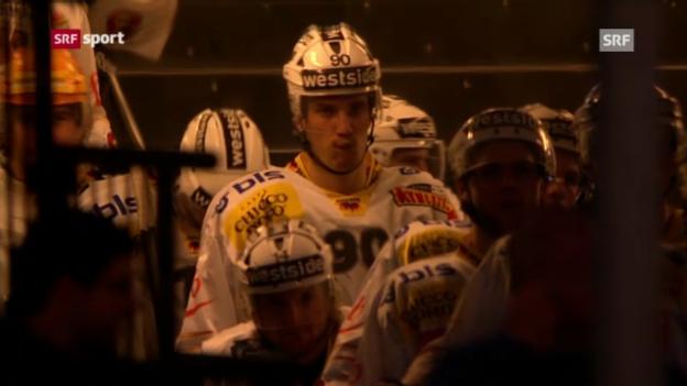 Video «ZSC Lions - SC Bern» abspielen