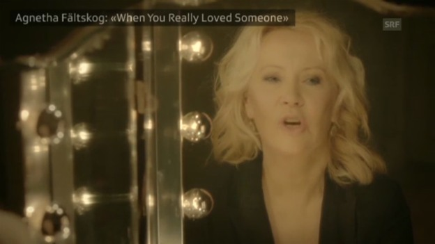Video «Agnetha Fältskogs neue Single» abspielen