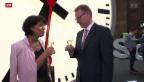Video «Erster Teil der SBB-Durchmesserlinie eröffnet» abspielen