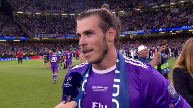 Video «Bale: «Zu Hause zu gewinnen ist die Erfüllung eines Traums» (engl.)» abspielen
