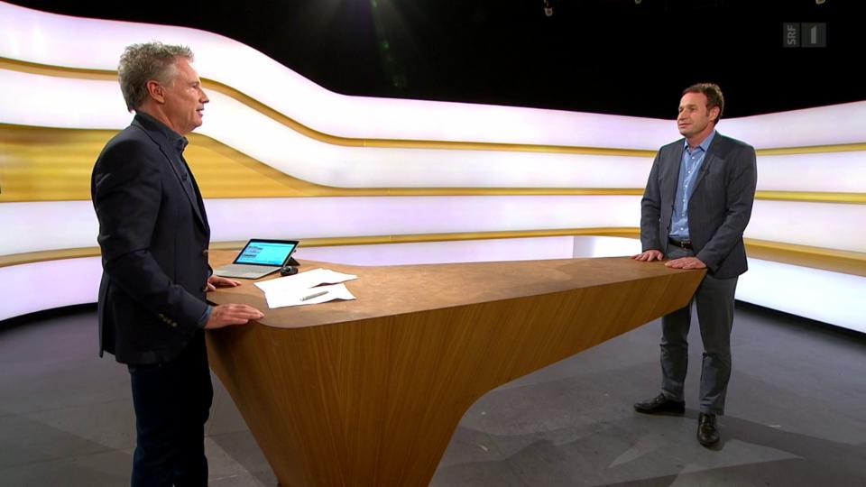 Studiogespräch mit Hubert Stöckli, Professor für Vertragsrecht