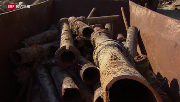 Video «Investitionsstau im Trinkwasser-Netz» abspielen