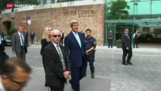 Video «Atomprogramm: Iran-Gipfeltreffen in Wien» abspielen