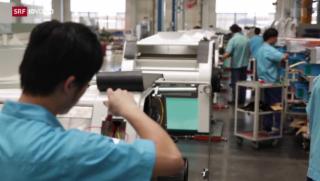 Video «FOKUS: Schweizer Firmen investieren in China» abspielen