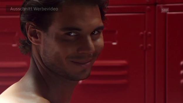 Video «Nadal in der Umkleidekabine» abspielen