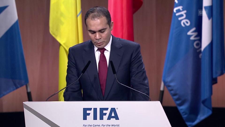 Rede von Prinz Ali Bin al-Hussein