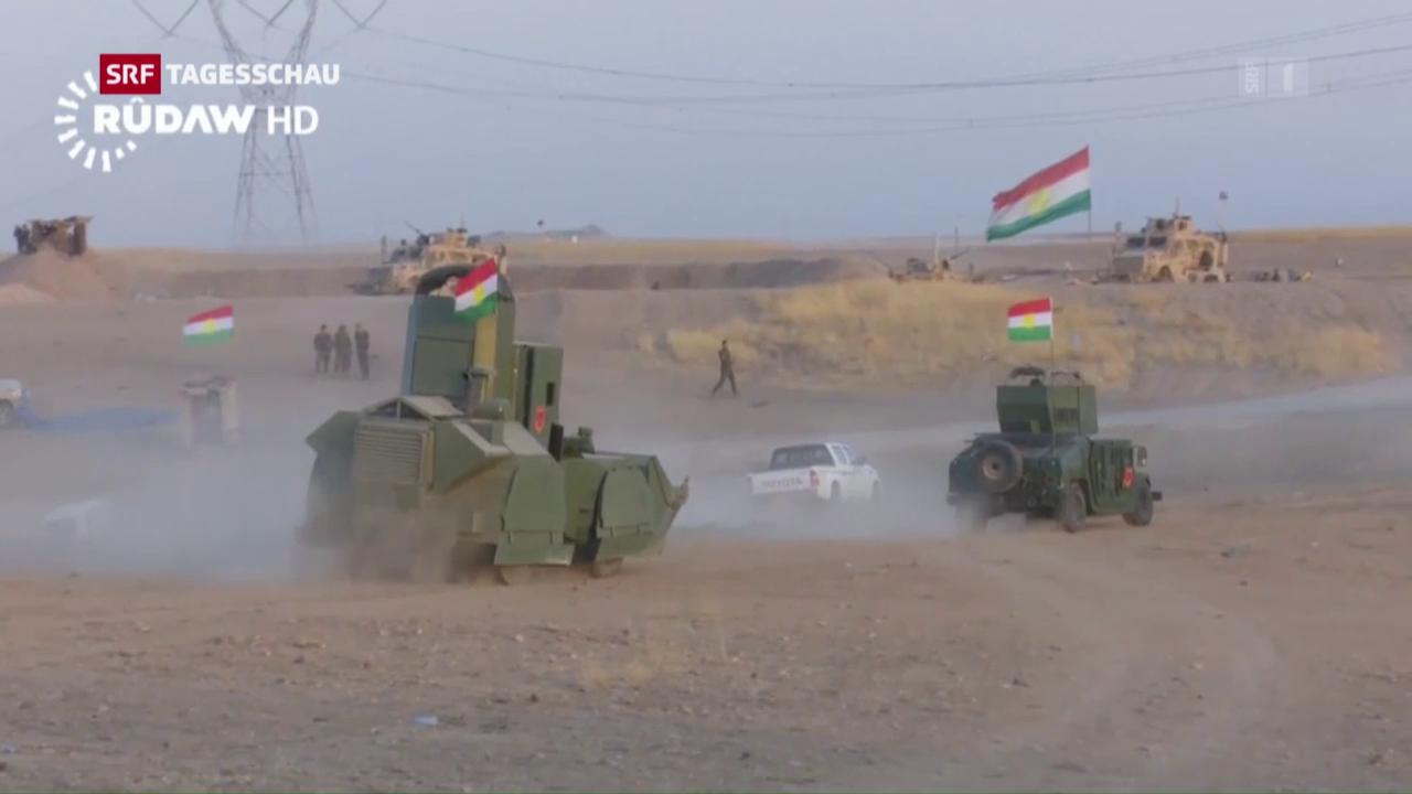 Der IS unter Druck