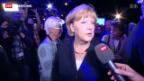 Video «Am Tag nach dem deutschen TV-Duell» abspielen