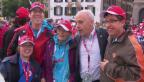 Video «Ueli Maurer an der Seite von behinderten Sportlern in Bern» abspielen