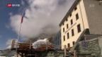 Video «Hüttenwart verlässt Hörnlihütte» abspielen