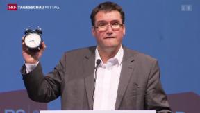 Video «Delegiertenversammlung der SP» abspielen