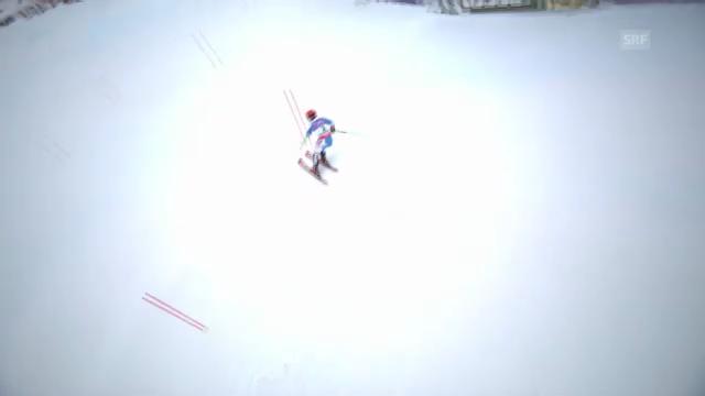 WM-Slalom: 1. Lauf Hirscher