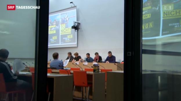 Video «Asylgesetz-Referendum: Abstimmungskampf lanciert» abspielen