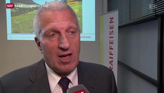 Video «Pierin Vincenz: Ein freiwilliger Rücktritt?» abspielen