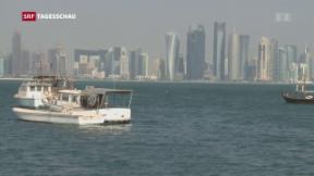 Video «Nachbarländer isolieren Katar » abspielen