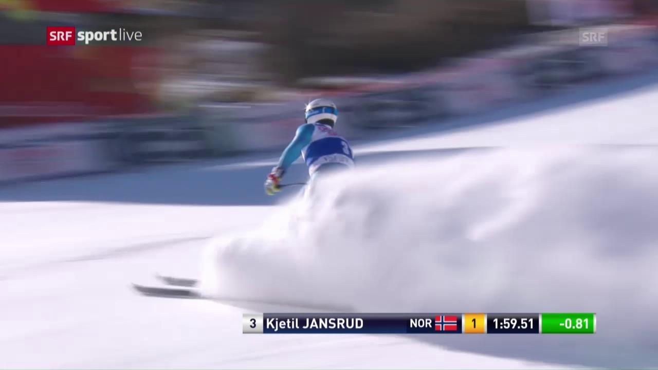 Die Fahrt von Kjetil Jansrud