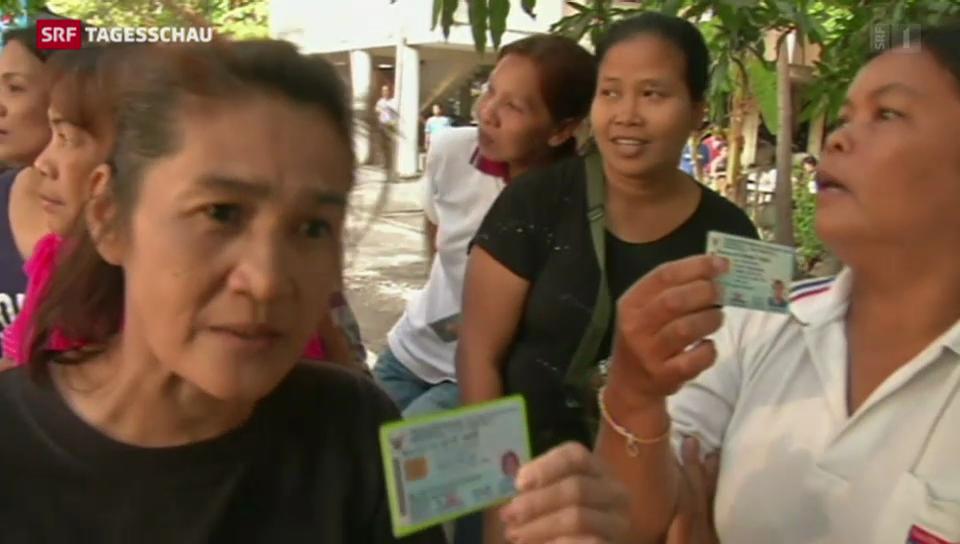 In Thailand wurde gewählt – Nachwahlen nötig