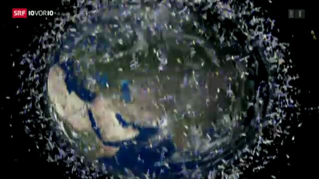 Schrott im Weltraum
