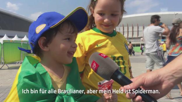 Video «Das sind die Olympia-Helden der Brasil-Fans» abspielen