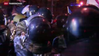 Video «Angespannter Machtkampf in Kiew» abspielen