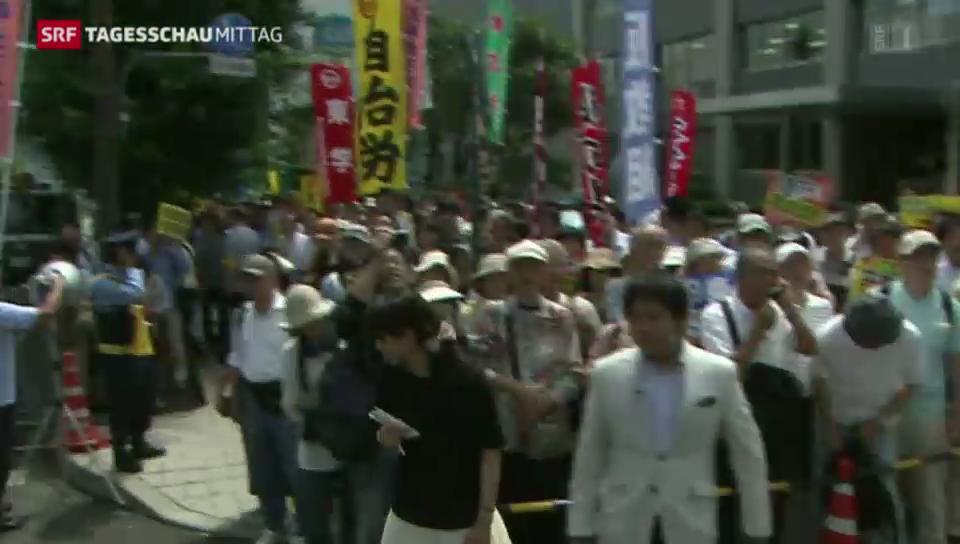 Japan ändert Nachkriegsverfassung