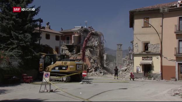 Video «Erdbebenversicherung scheitert im Ständerat» abspielen
