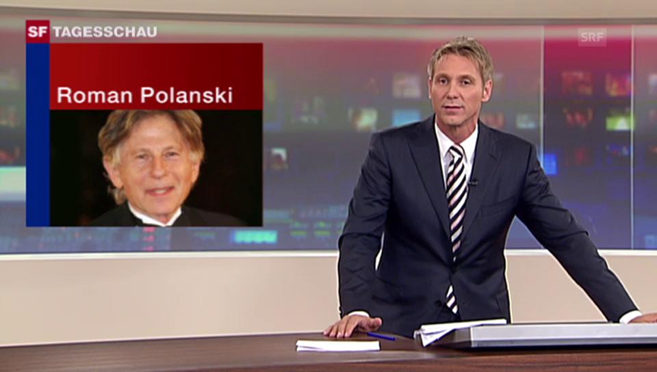 «Tagesschau» vom 27.9.2009: Polanskis Verhaftung