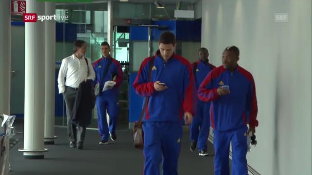 FC Basel vor dem Rückspiel