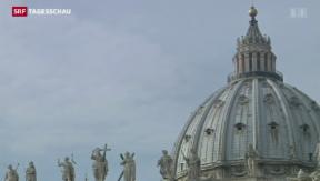 Video «Internes Dokument zeigt: hunderte Pädo-Priester entlassen» abspielen