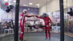 Video «Indoor Skydiving: Die ersten Schweizer Meisterschaften» abspielen