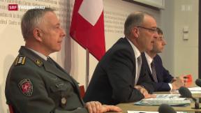 Video «Schweizer Armeechef hört auf» abspielen