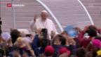 Video «Heiligsprechungen in Fátima» abspielen